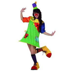 DÉGUISEMENT - PANOPLIE Déguisement clown femme - Taille M / L