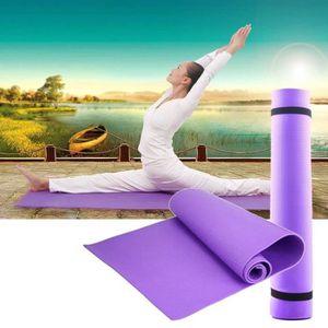 TAPIS DE SOL FITNESS 180cmx60cmx0.6cm tapis de yoga tapis antidérapant 0f1115d1fbd
