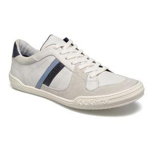 Diadora Sneakers Homme Blanc/Noir 46  Blanc/noir - Achat / Vente basket  - Soldes* dès le 27 juin ! Cdiscount