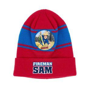 Fireman Sam ensemble bonnet gants écharpe sam le pompier noir pour Noël c01004b8e1c