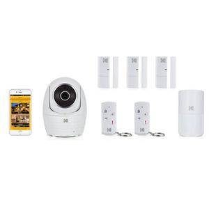 CAMÉRA DE SURVEILLANCE KODAK Pack Caméra Full HD IP101WG + 6 accessoires