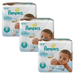 COUCHE 180 Couches Pampers New Baby Sensitive taille 2 ai