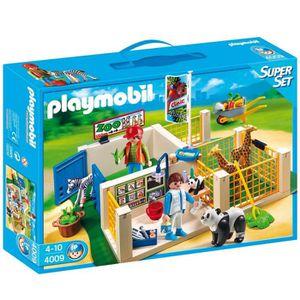 UNIVERS MINIATURE Playmobil 4009 - Superset Clinique Vétérinaire
