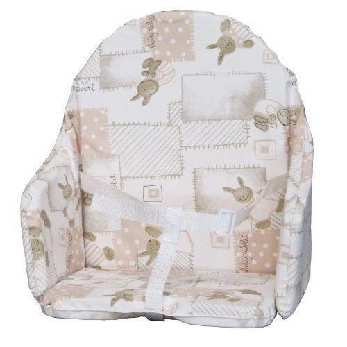 BAMBISOL Coussin de chaise avec sanglesCHAISE HAUTE - COUSSIN CHAISE HAUTE - PLATEAU CHAISE