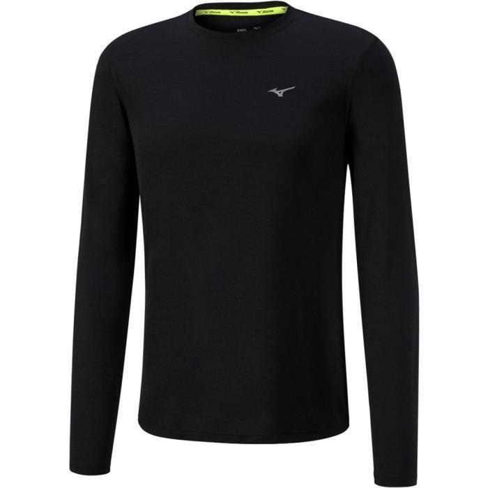 MIZUNO T-Shirt Impulse Core Ls Homme Noir