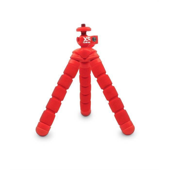XSORIES Trépied articulé pour GoPro Mini Bendy - Rouge