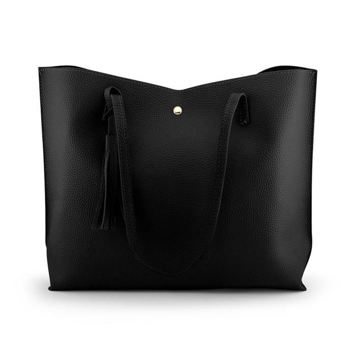 lage - glands sacs à bandoulière en cuir, mode dames sac s H2LQ6