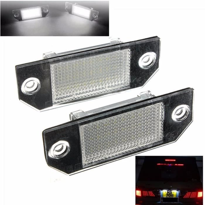 Paire 24 Led Eclairage Plaque Immatriculation License Pour Ford