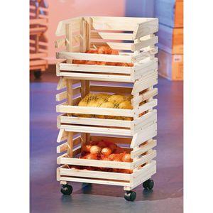 Rangement legumes achat vente pas cher for Rangement legumes cuisine