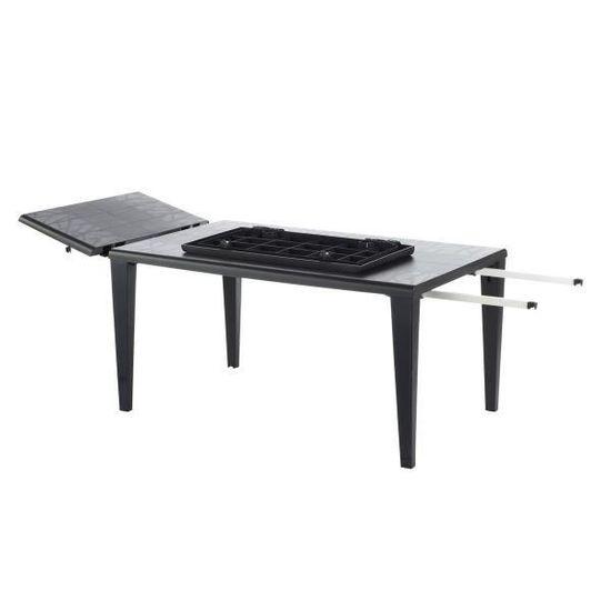Table de jardin Alpha 240 GROSFILLEX - Blanc - Achat / Vente table ...