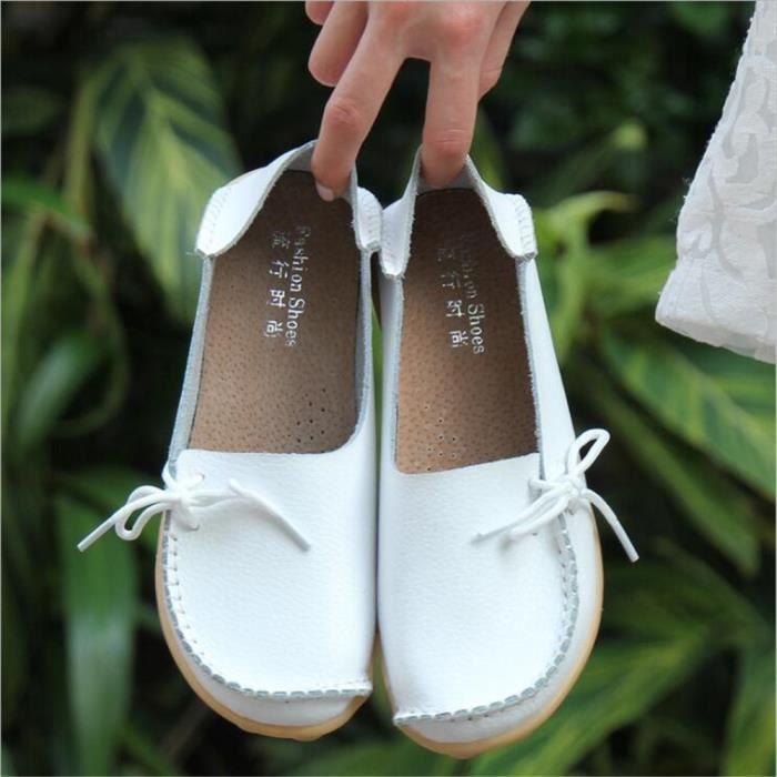 Loafer femme Meilleure Qualité chaussures plates Classique Nouvelle arrivee Grande Taille chaussure Marque De Luxe Confortable