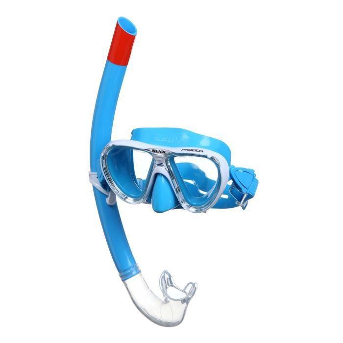 SEAC Masque et Tuba de plongée Procida Siltra - Enfant - Bleu