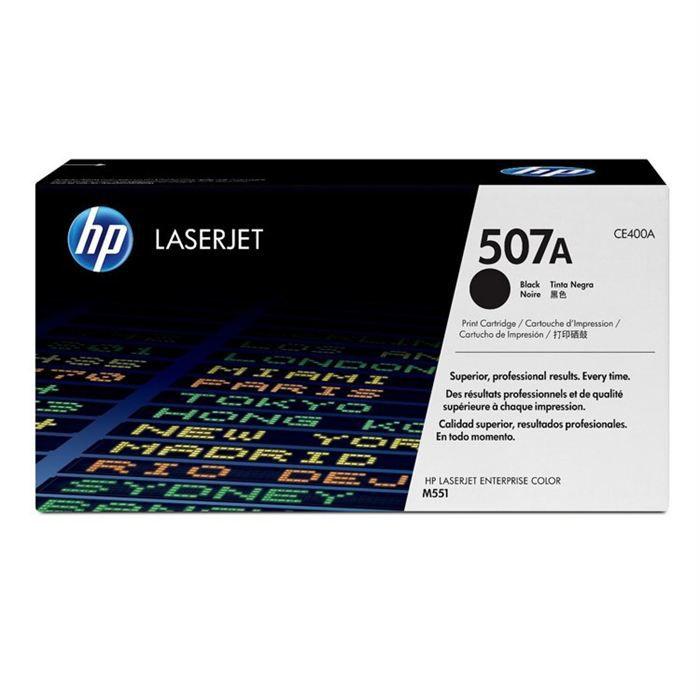 HP Cartouche toner 507A - Original noir  - Capacité standard 5 500 pages