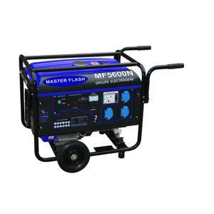 MASTER FLASH Groupe électrog?ne ? essence 5500W avec kit chariot MF5600N
