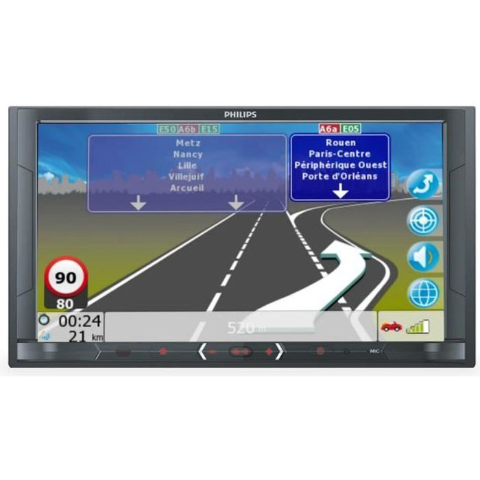 Autoradio Multimedia GPS - Ecran 6,8''