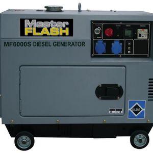 MASTER FLASH Groupe électrog?ne diesel silencieux 5000W MF6000S