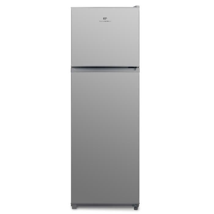 CONTINENTAL EDISON CEF2D300S Réfrigérateur congélateur haut 300L, A+, Froid statique, L 59,5 xH 176