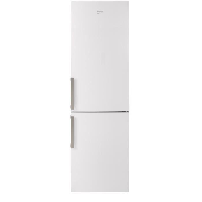 BEKO RCSA400W - Réfrigérateur congélateur bas - 380L (267+113) - Froid statique - A+ - L 59,5cm x H