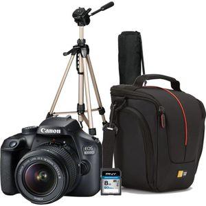 PACK APPAREIL RÉFLEX Pack Débutant : CANON EOS 4000D +  EF-S 18-55 I +