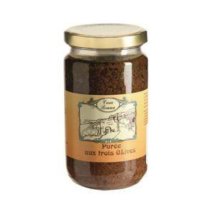 CONSERVE AUTRES LÉGUMES CASA BRUNA Purée aux 3 olives - 200 G