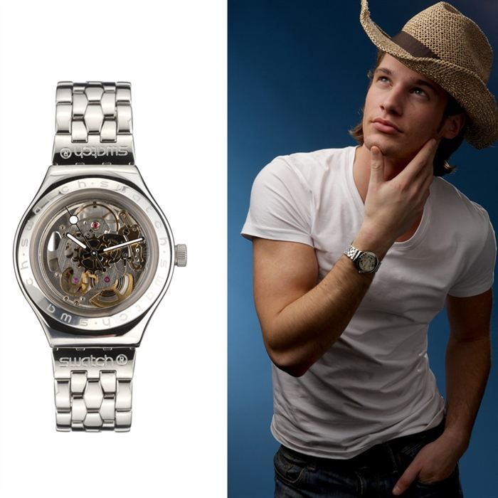 swatch irony body soul montre homme achat vente montre cdiscount. Black Bedroom Furniture Sets. Home Design Ideas