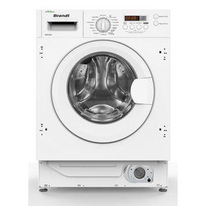 LAVE-LINGE BRANDT BWF800I - Lave-linge intégrable - 8kg - 140