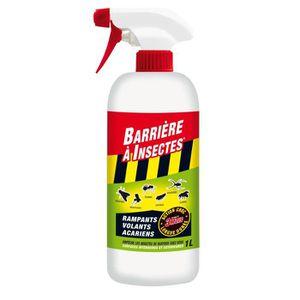 TRAITEMENTS PLANTES BARRIERE A INSECTES Insectes rampants, volants et