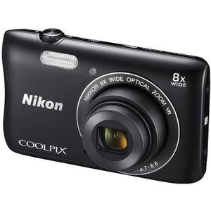 APPAREIL PHOTO COMPACT NIKON S3700 noir  - DTC 20MP Zoom 8x Appareil phot