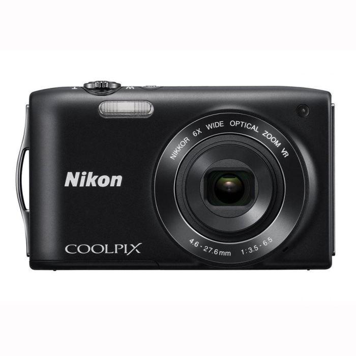 APPAREIL PHOTO COMPACT NIKON COOLPIX S3300 Compact - Noir