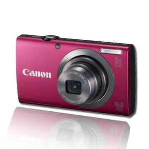 APPAREIL PHOTO COMPACT Appareil photo numérique CANON A2300 Rouge