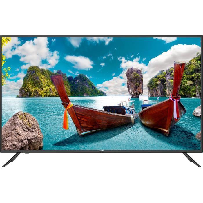 """Téléviseur LED HAIER LE65K6500U TV UHD 4K 165 cm (65"""") - Smart TV"""