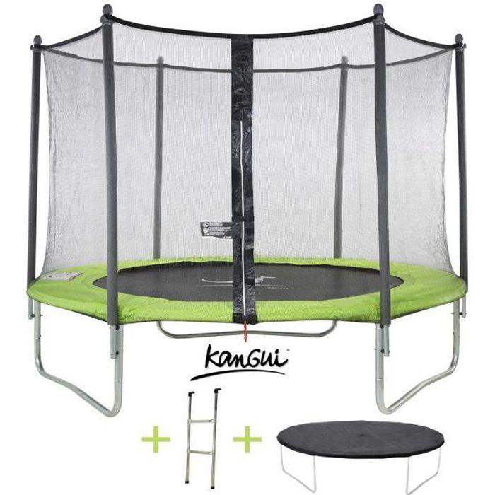 trampoline 305 cm achat vente jeux et jouets pas chers. Black Bedroom Furniture Sets. Home Design Ideas