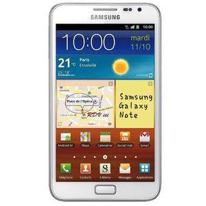 SMARTPHONE SAMSUNG SGH N7000 GALAXY NOTE BLANC