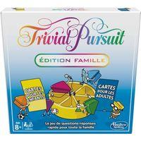 Trivial Pursuit Famille – Jeu de société de réflexion