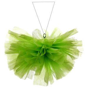 SANTEX Boule intissée uni 25 cm vert