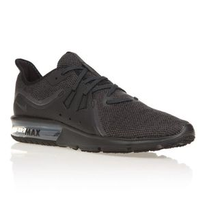 BASKET NIKE Chaussures Air Max Sequent 3 - Homme - Noir e