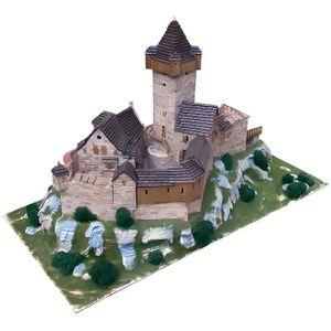 GARAGE - BATIMENT Maquette en céramique - Château de Falkenstein