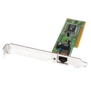 CARTE RÉSEAU  APM - CARTE ETHERNET PCI 10-100 BASE TX PLUG&PL…