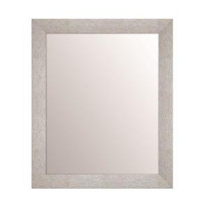 Miroir salle de bain 40 cm achat vente miroir salle de for Miroir rectangulaire argent