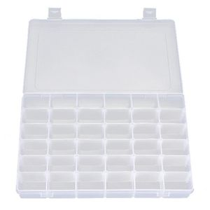 BOITE - MALLETTE 36 Grid Boite étui Coffret Plastique Rangement Bij