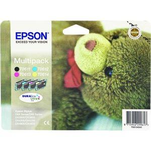 CARTOUCHE IMPRIMANTE Epson T0615 Ourson Cartouches d'encre Multipack Co