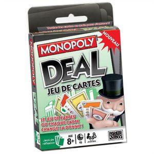 JEU SOCIÉTÉ - PLATEAU Monopoly Deal Jeu de Cartes