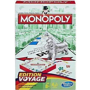 JEU SOCIÉTÉ - PLATEAU MONOPOLY - Jeu de voyage