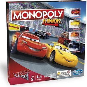 JEU SOCIÉTÉ - PLATEAU MONOPOLY - Cars 3