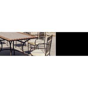 Table jardin mosaique - Achat / Vente pas cher