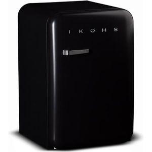 RÉFRIGÉRATEUR CLASSIQUE Frigo Noir Mate 83.5L IKOHS A+ 92L réfrigérateur C