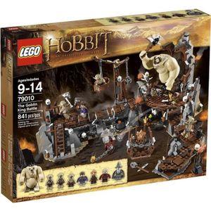 ASSEMBLAGE CONSTRUCTION Lego The Hobbit La Bataille Contre Le Roi Gobelin
