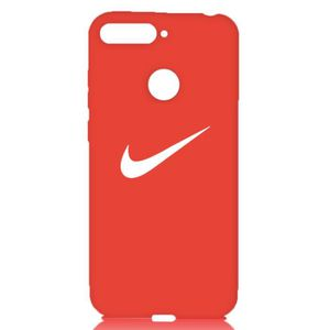 coque huawei y6 2018 rouge