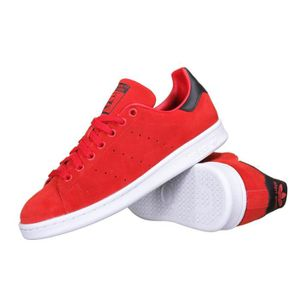 Achat Stan Rouge Adidas Vente Smith M17155 Chaussure bf6Yyg7