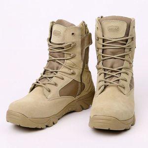 BOTTE Botte ranger militaire homme, Chaussure homme hive